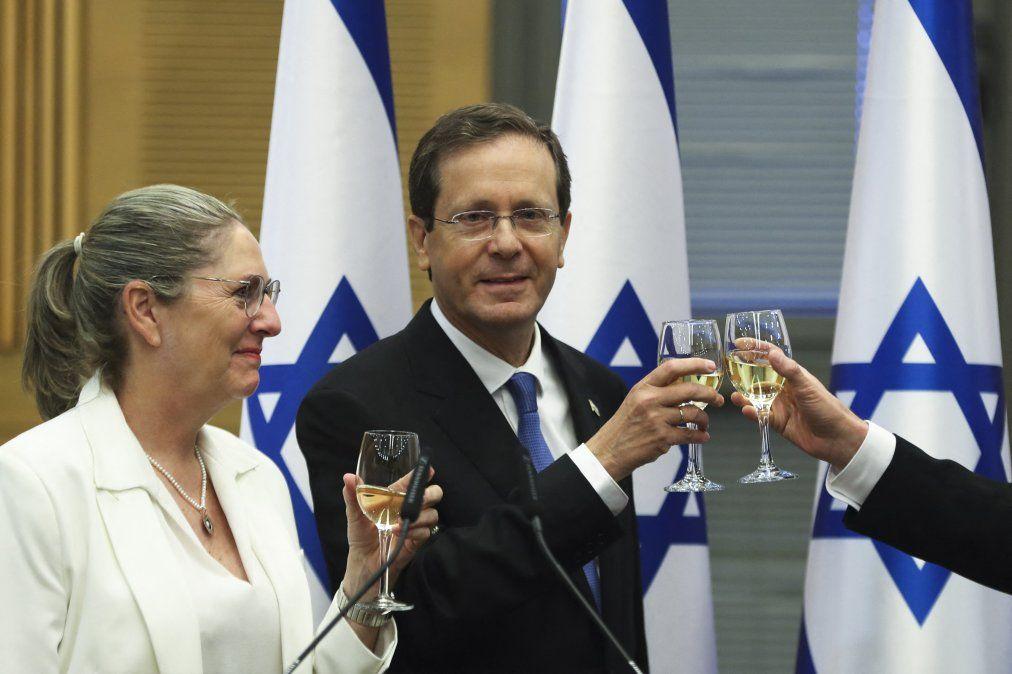 El laborista Isaac Herzog asumió como presidente de Israel