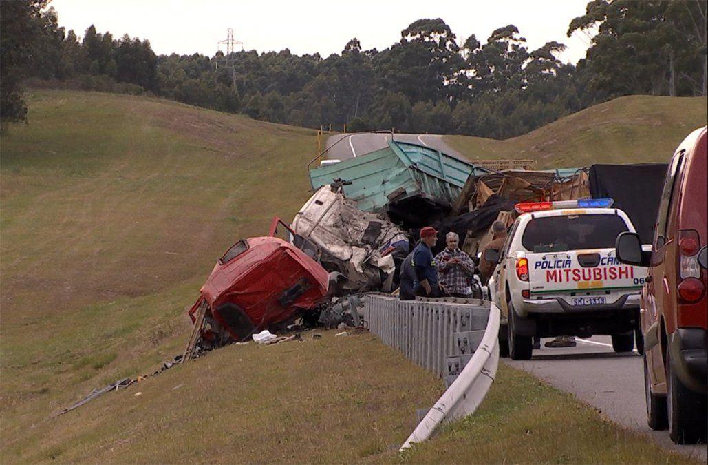 Tras choque frontal, sindicato de camioneros reclama que se restituya sistema de control