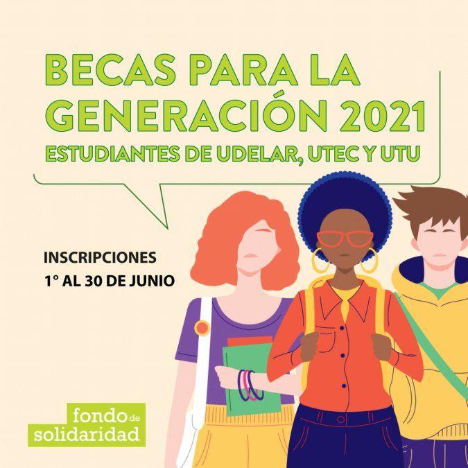 En Junio, jóvenes de generación 2021 podrán solicitar beca del Fondo de Solidaridad