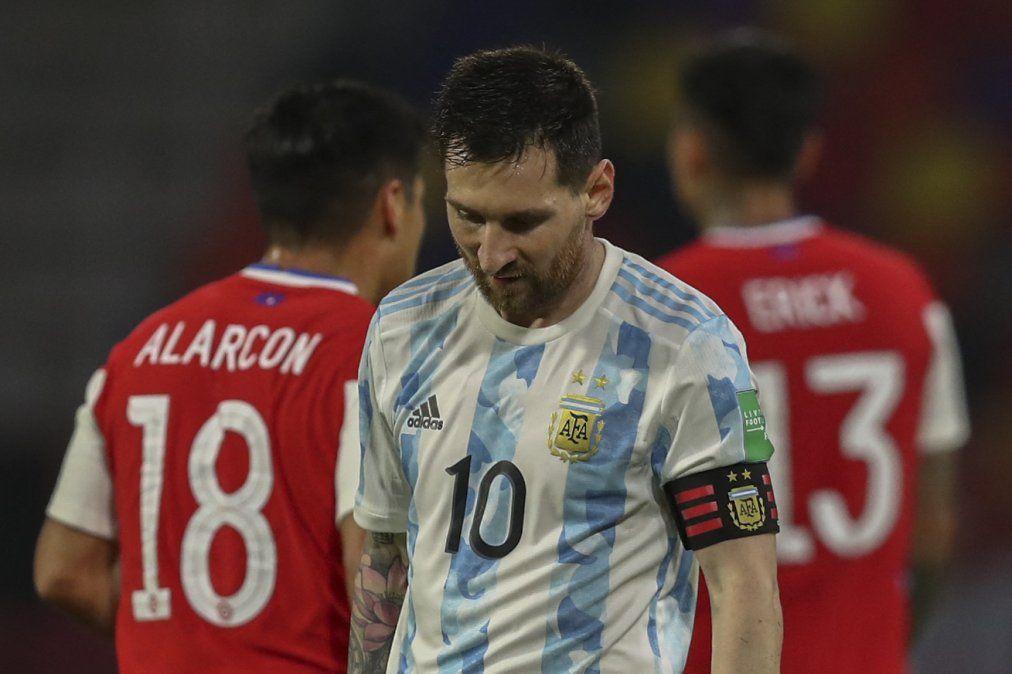 La Argentina de Messi firma deslucido empate 1-1 ante Chile