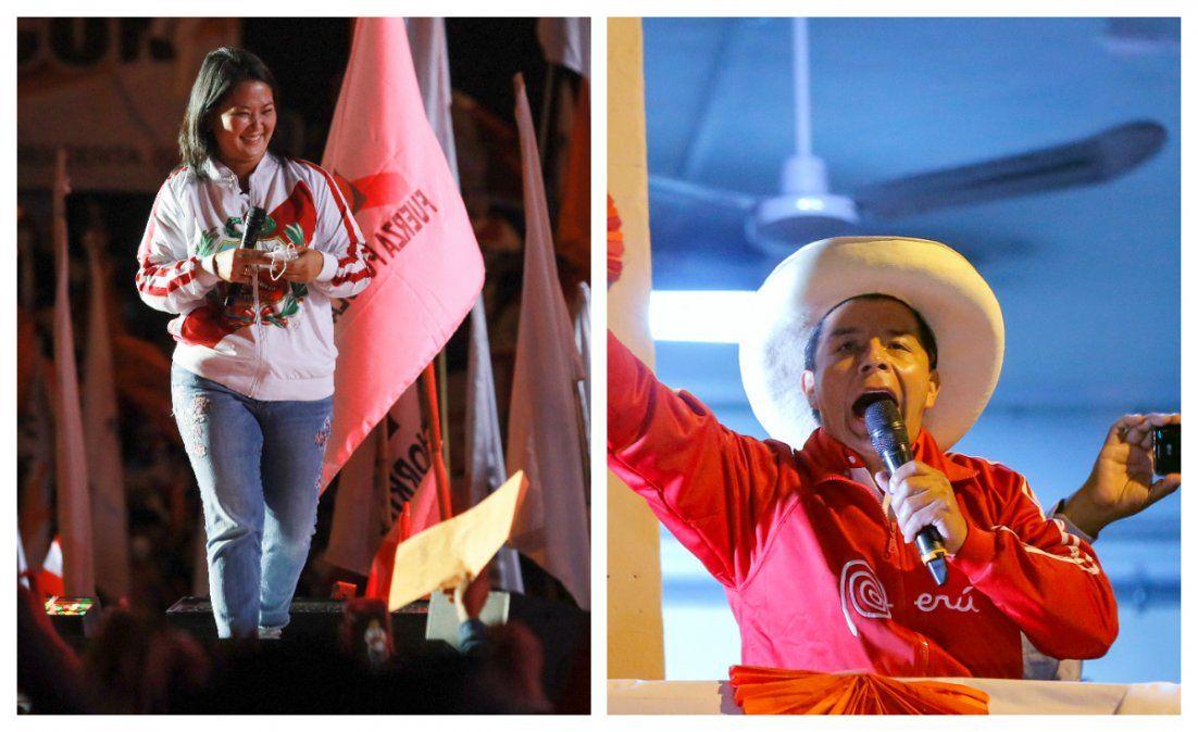 Elecciones el domingo en el convulsionado Perú:  hora de la verdad entre Fujimori y Castillo