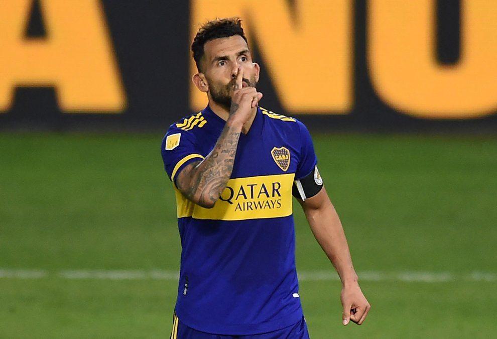 Carlos Tévez anunció a la directiva de Boca Jrs. que no está en condiciones anímicas de continuar
