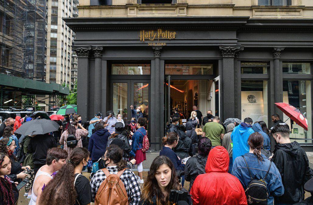 Inauguran una megatienda de Harry Potter en Nueva York