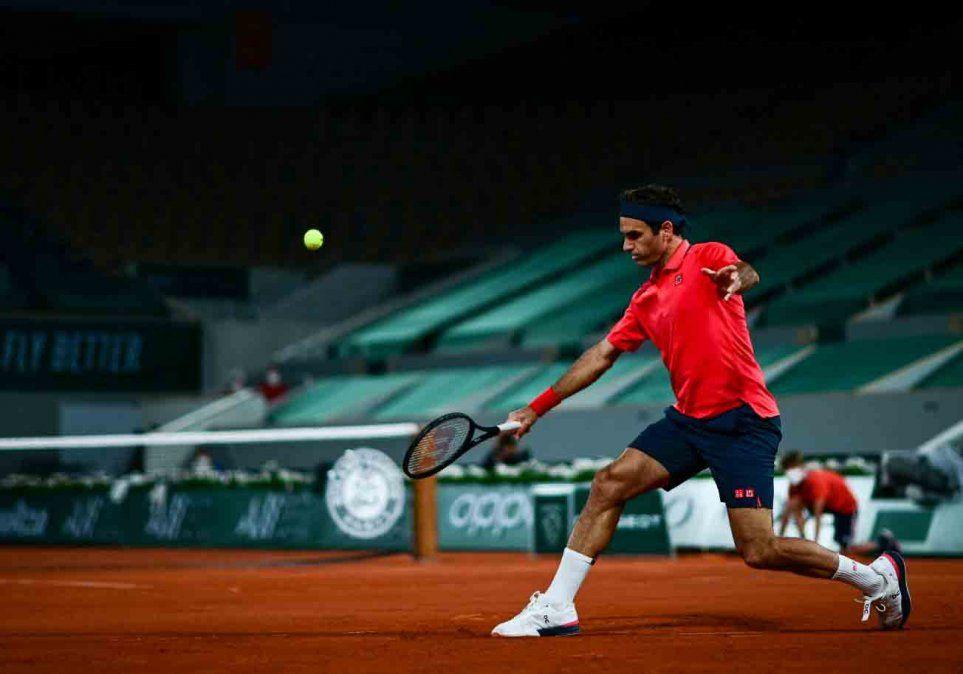 Roger Federer anunció que se retira de Roland Garros