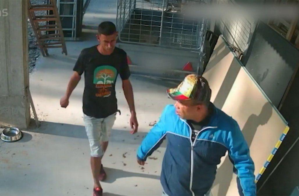 Video: atrapan a dos delincuentes que quedaron filmados cuando robaban en una casa