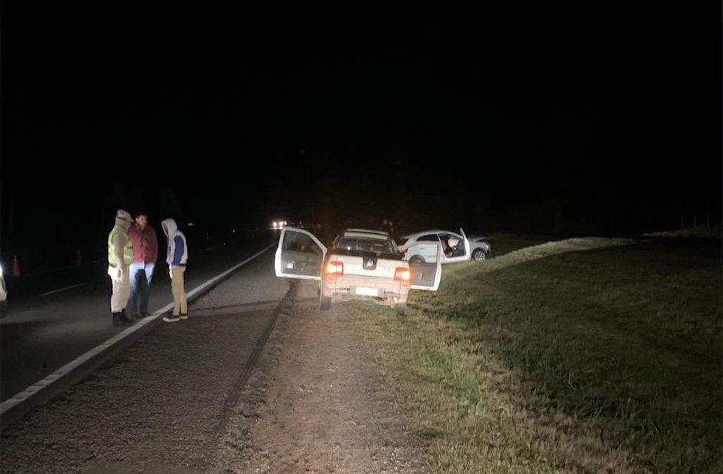 Un motociclista murió tras chocar de frente contra un auto