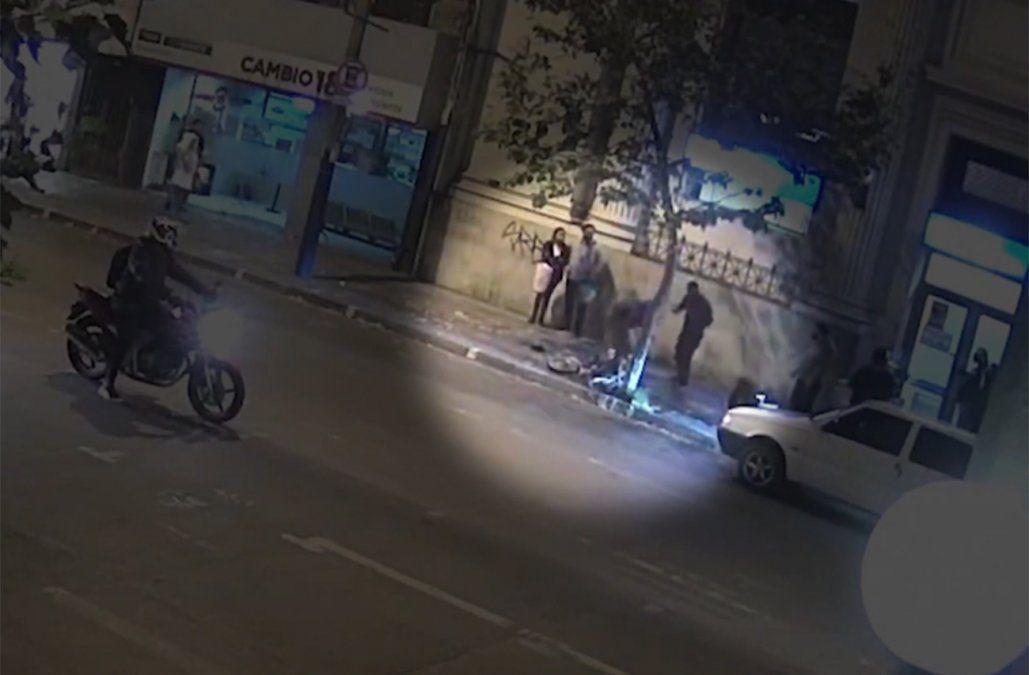 Arresto ciudadano captado en cámaras de seguridad tras robo a local comercial