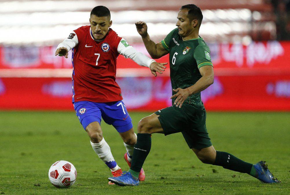 Sorpresa en Santiago: Bolivia le roba un empate a un ineficiente Chile  1 a 1 por Eliminatorias