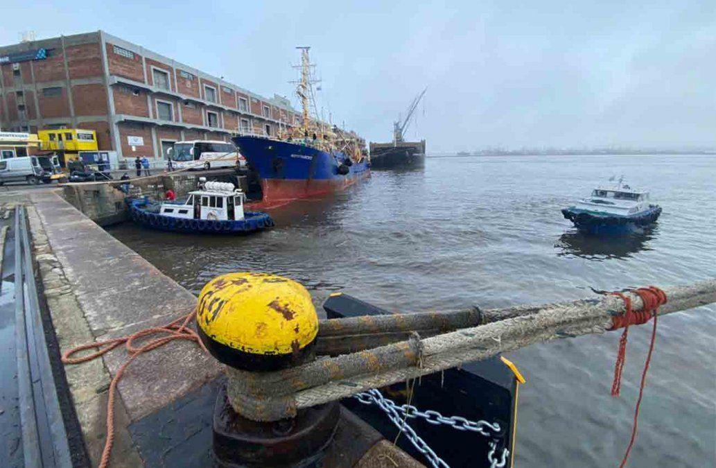 70 tripulantes indonesios desembarcaron en el Puerto de Montevideo bajo estrictas medidas sanitarias