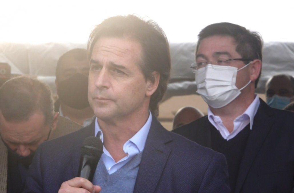 Lacalle Pou anunció que habrá inversiones importantes en Maldonado