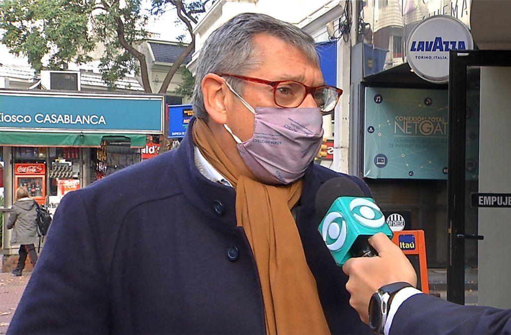 Enciso se reunió con Lacalle Pou por el interés de argentinos en invertir en Uruguay