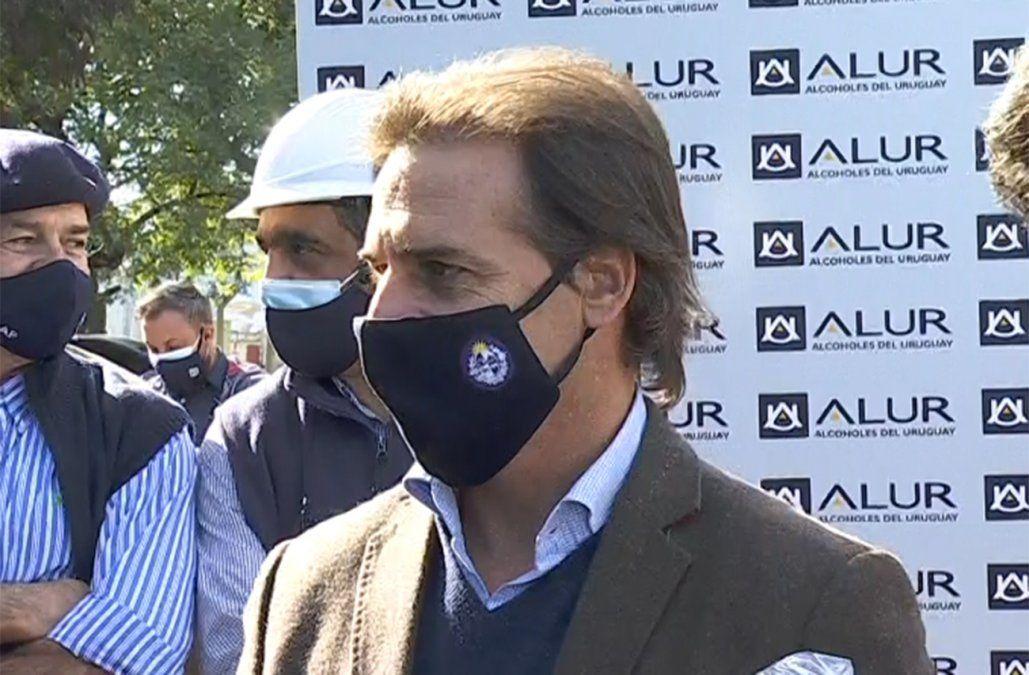 Soy el presidente de todos los uruguayos, aún de los que se dedican a caranchear