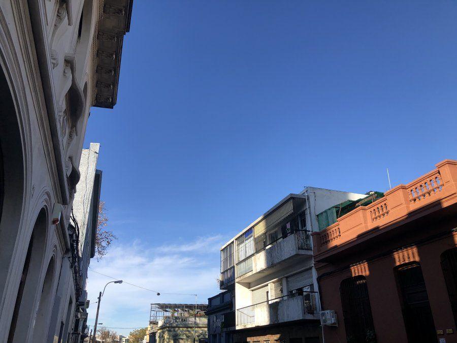 Inumet pronostica un sábado claro y algo nuboso, con períodos de nuboso