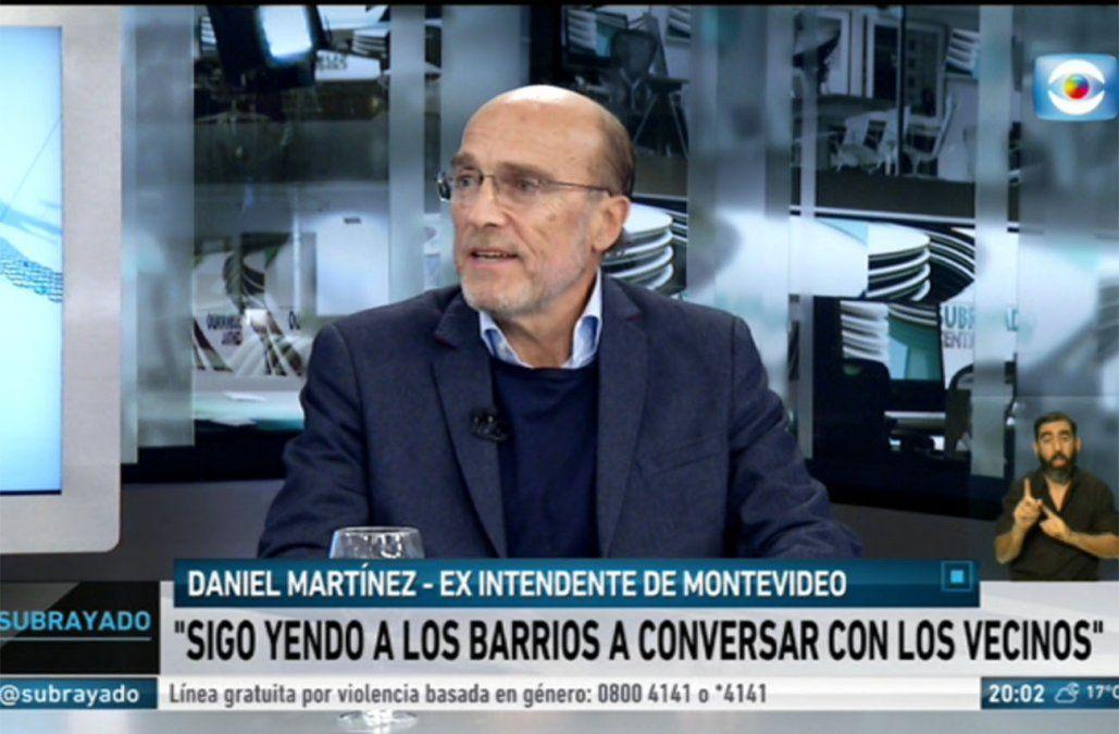 Daniel Martínez el Frente Amplio tiene que volver a acostumbrarse a ser oposición