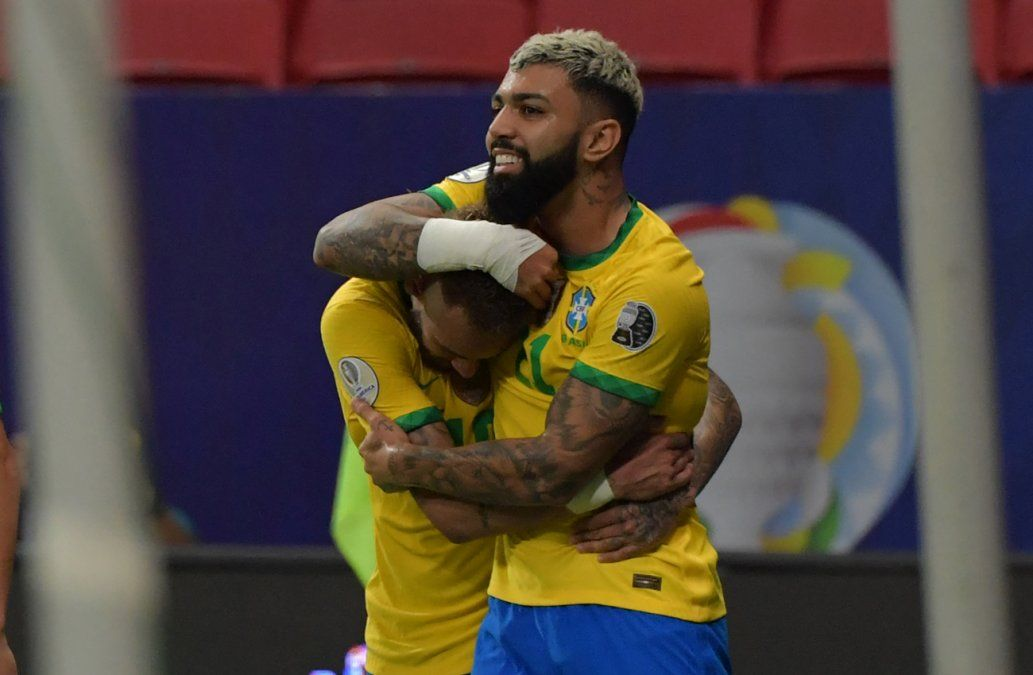 Brasil derrotó 3-0 a la diezmada Venezuela