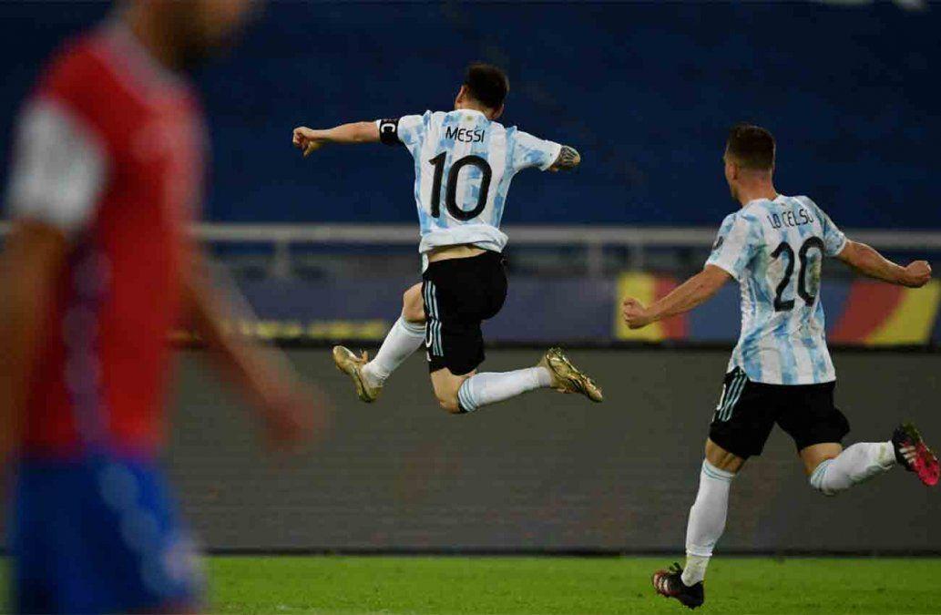Argentina empató 1 a 1 con Chile en la Copa América