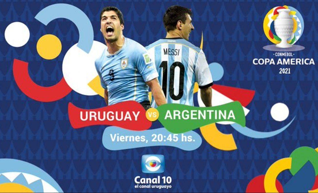 La Celeste juega en Canal 10: este viernes Uruguay - Argentina desde las 20:45