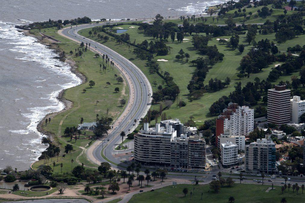Jueves frío y probabilidad de precipitaciones en Montevideo