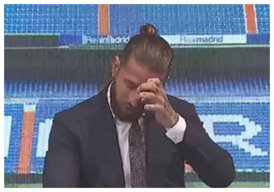 Sergio Ramos llora y le dice adiós al Real Madrid: algún día volveré