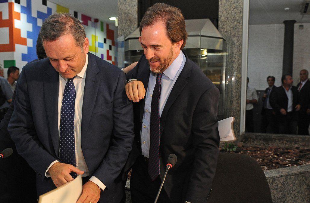 Foto: Álvaro Delgado en la asunción de Germán Cardoso como ministro de Turismo/Presidencia