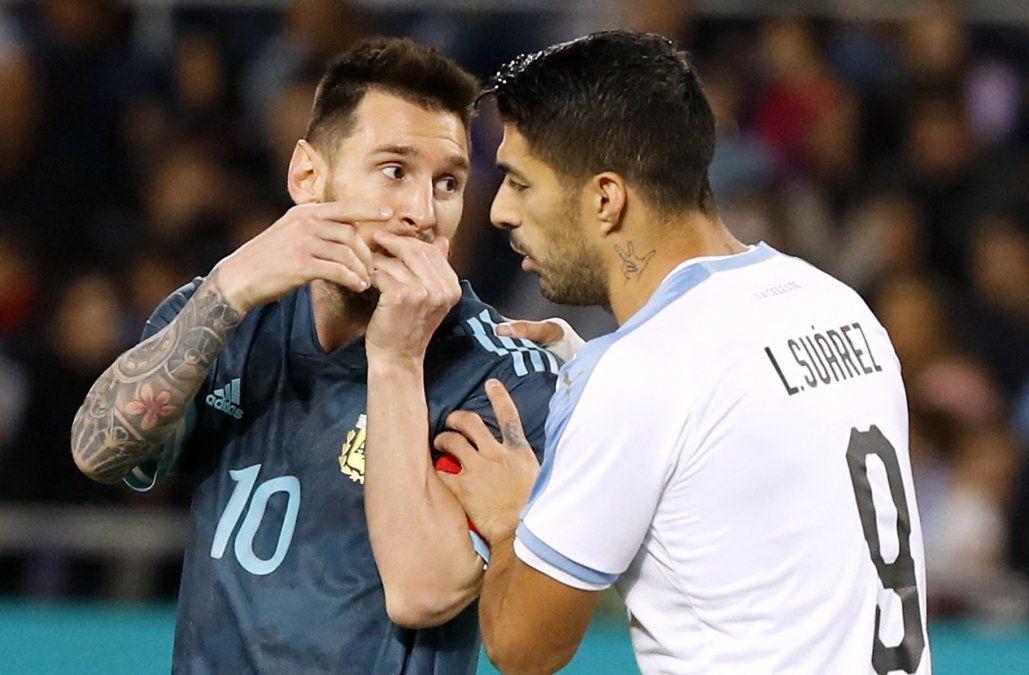 Messi y Suárez agrandan rivalidad entre Argentina y Uruguay; Bolivia y Chile, otro duelo picante