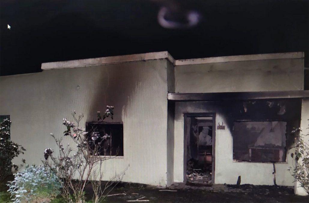 Una estufa a leña prendida provocó un incendio que le costó la vida a un hombre de 80 años