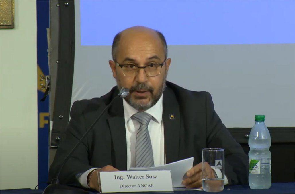 Falleció este sábado Walter Sosa, director de Ancap por el Frente Amplio