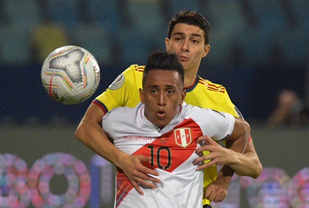 Perú dio la sorpresa: ganó 2-1 ante una Colombia que viene de más a menos