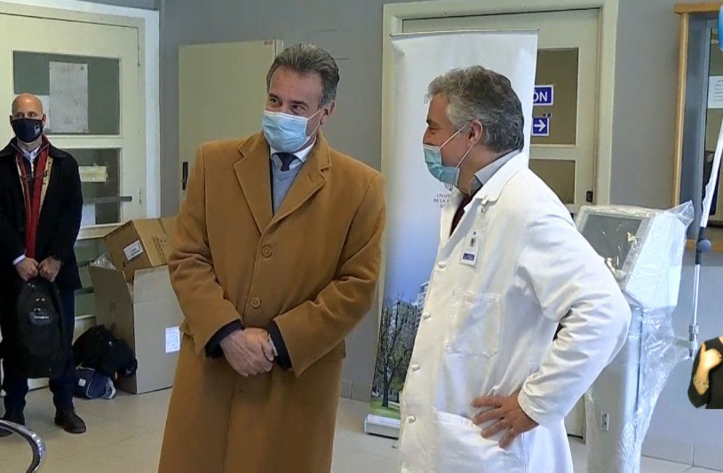 Daniel Salinas: la vacuna multiplica por 10 los anticuerpos contra el Covid-19