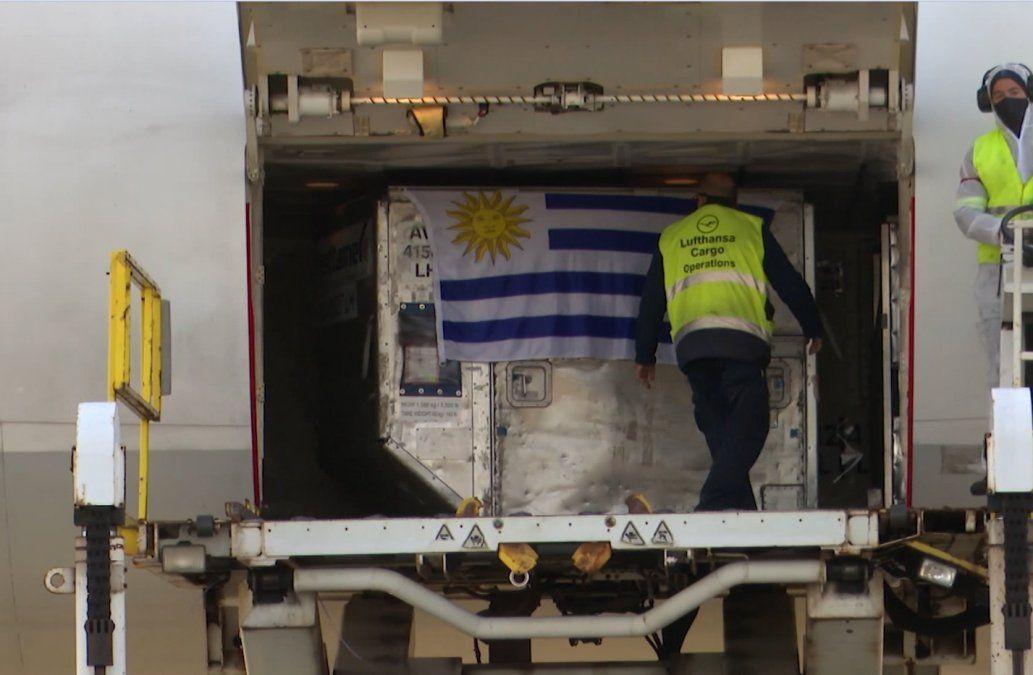 Vacunas de Estados Unidos podrían llegar a Uruguay en breve.