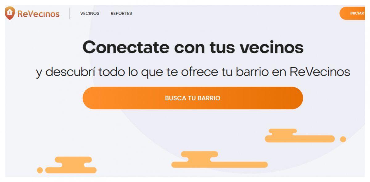REVecinos, una aplicación de celulares para conectarse con el barrio y sus problemas