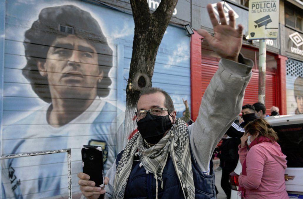 Argentina celebra 35 años del gol del siglo de Maradona a Inglaterra