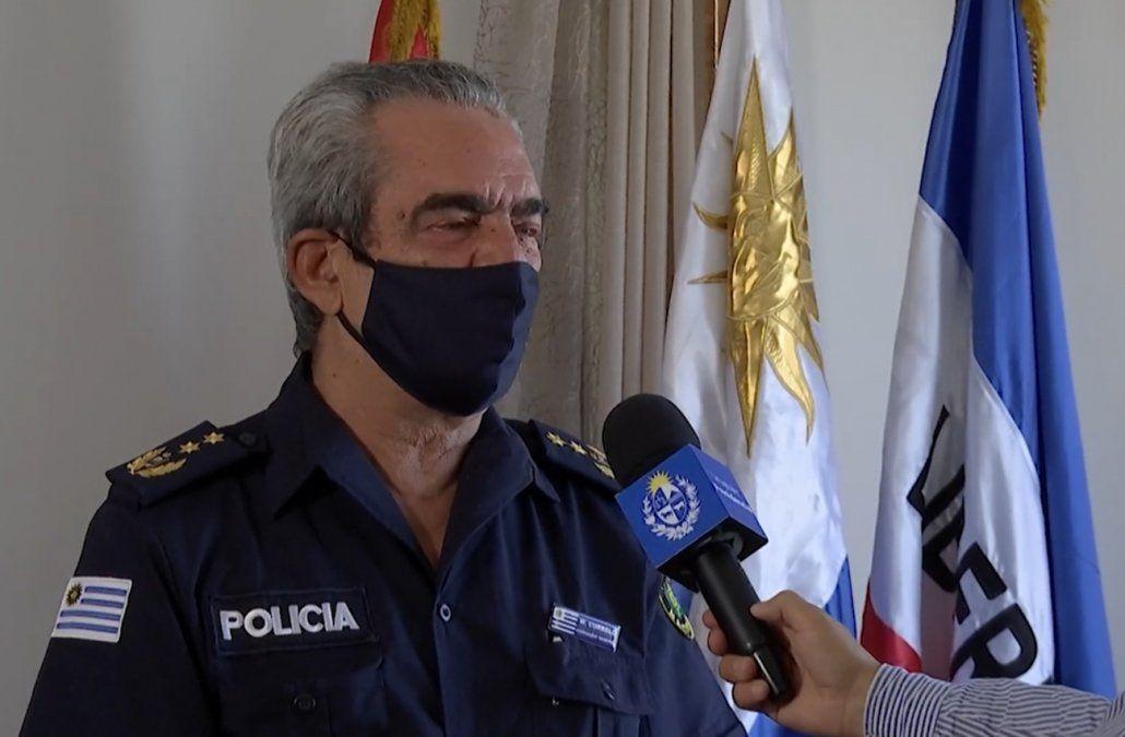 Ministro Luis Alberto Heber cesó a Washington Curbelo como director de la Escuela de Policía