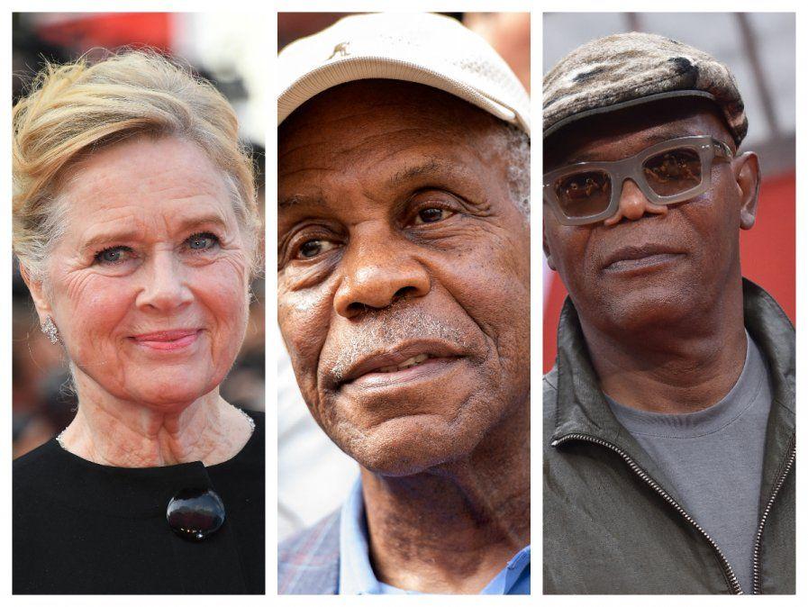 La Academia de Hollywood reconocerá a Danny Glover, Samuel L. Jackson y Liv Ullmann
