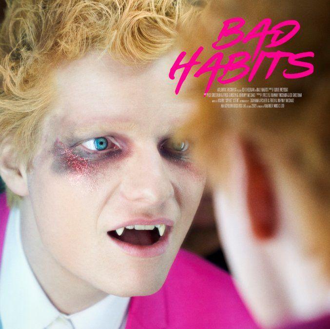 Ed Sheeran regresa oficialmente con su nuevo single Bad Habits
