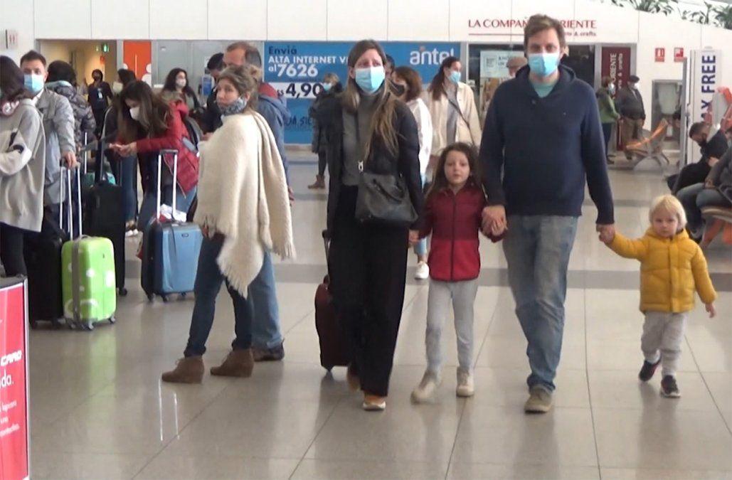 Vacaciones de Julio: 3.600 viajeros al exterior, 10% que antes de la pandemia