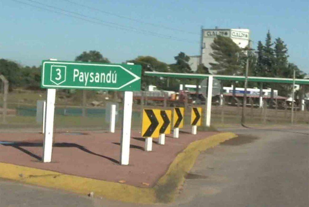 Un hombre mató a su padre de dos disparos en Paysandú