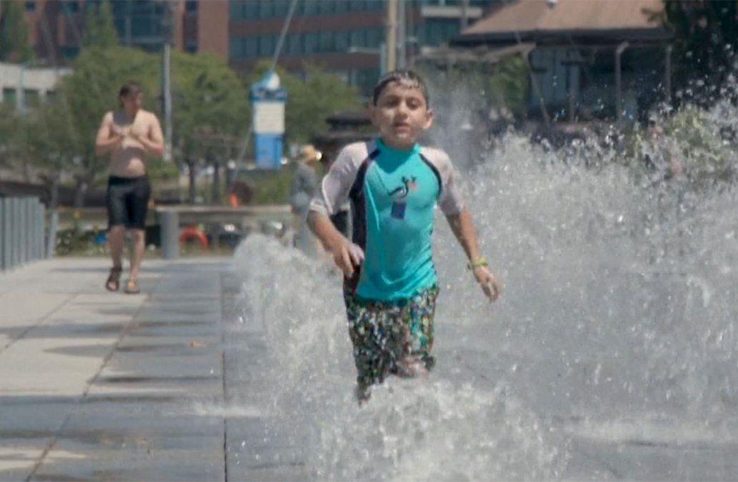 Estados Unidos y Canadá viven una histórica ola de calor con temperaturas de 45ºC