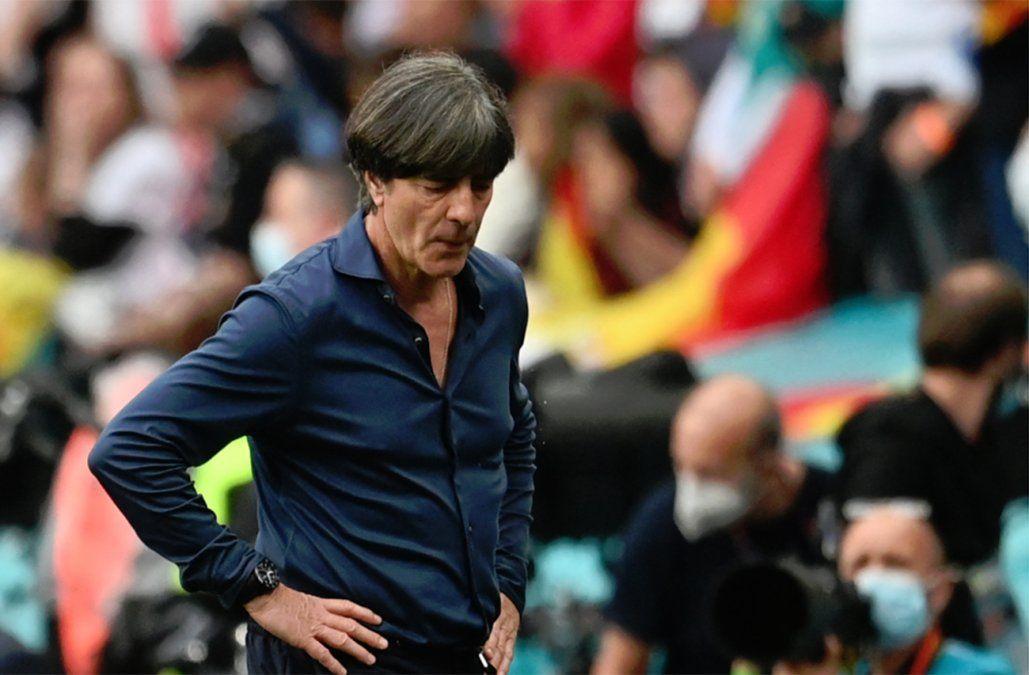 Quince años después, la historia de Joachim Löw con Alemania llega a su fin