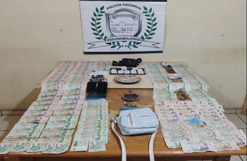 Cierran tres bocas de drogas en Artigas; dos personas a prisión