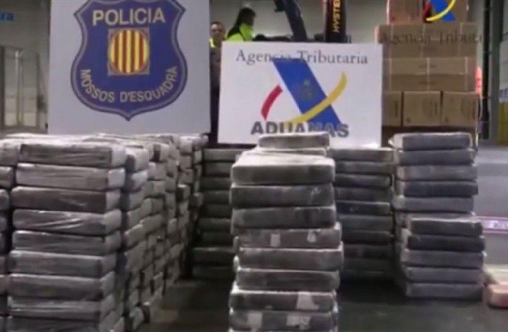 Relevan a número dos de la Brigada Antidrogas a días de la incautación de cocaína en Barcelona