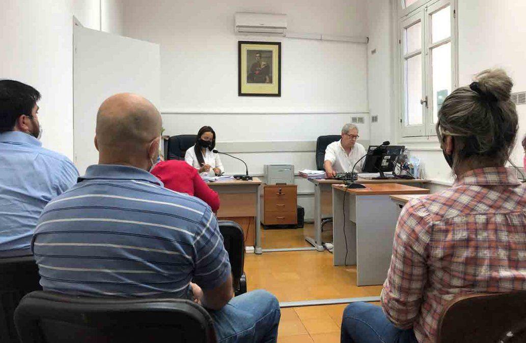 Audiencia de formalización en la que madre e hijo fueron imputados