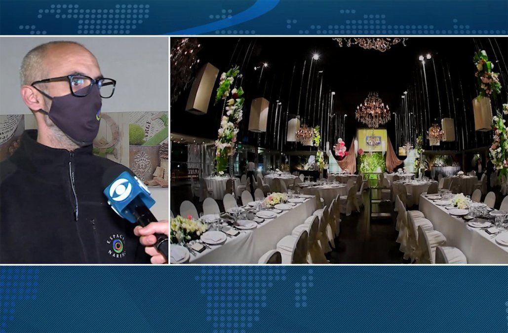 Salones, fotógrafos, gastronómicos, florerías: ¿Qué opinan empresarios del regreso de las fiestas?