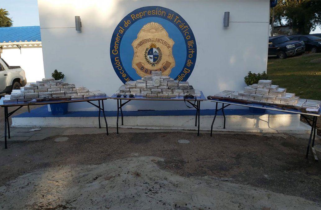 Tres condenados por el cargamento récord de pasta base incautado en Rio Negro