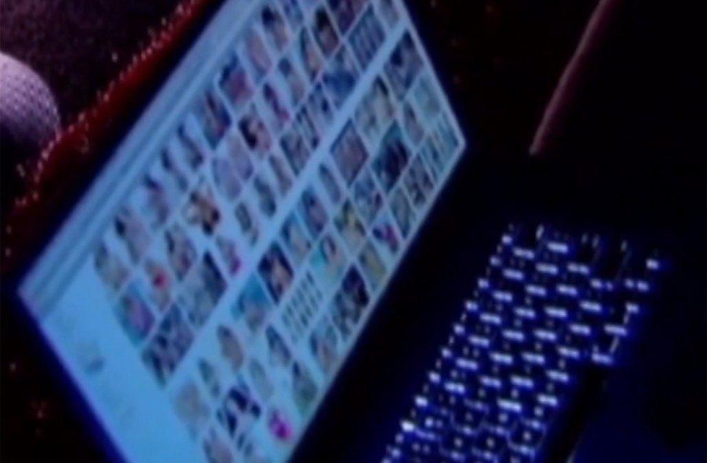 Foto: (archivo Subrayado) computadora con pornografía infantil