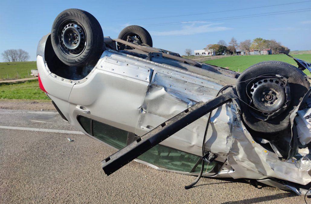 Ministro Adrián Peña tuvo un accidente de tránsito pero no sufrió lesiones de entidad