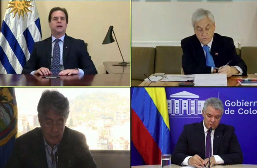 Lacalle Pou: Déjennos avanzar a nuestra velocidad; esto no supone romper con el Mercosur