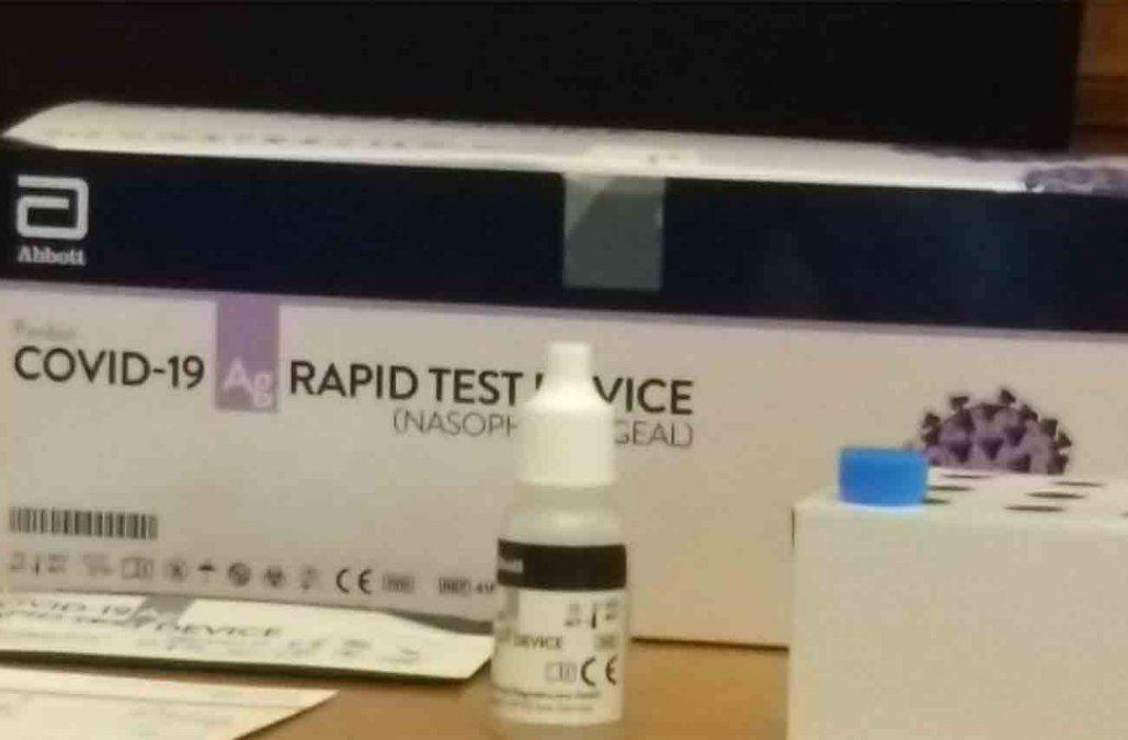 Las farmacias fueron habilitadas para hacer test de antígenos de Covid-19