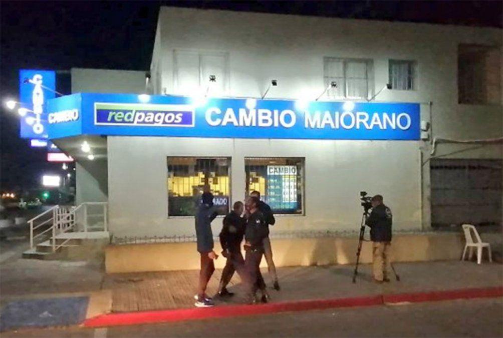 Intentaron rapiñar un cambio en Maldonado; hay dos detenidos