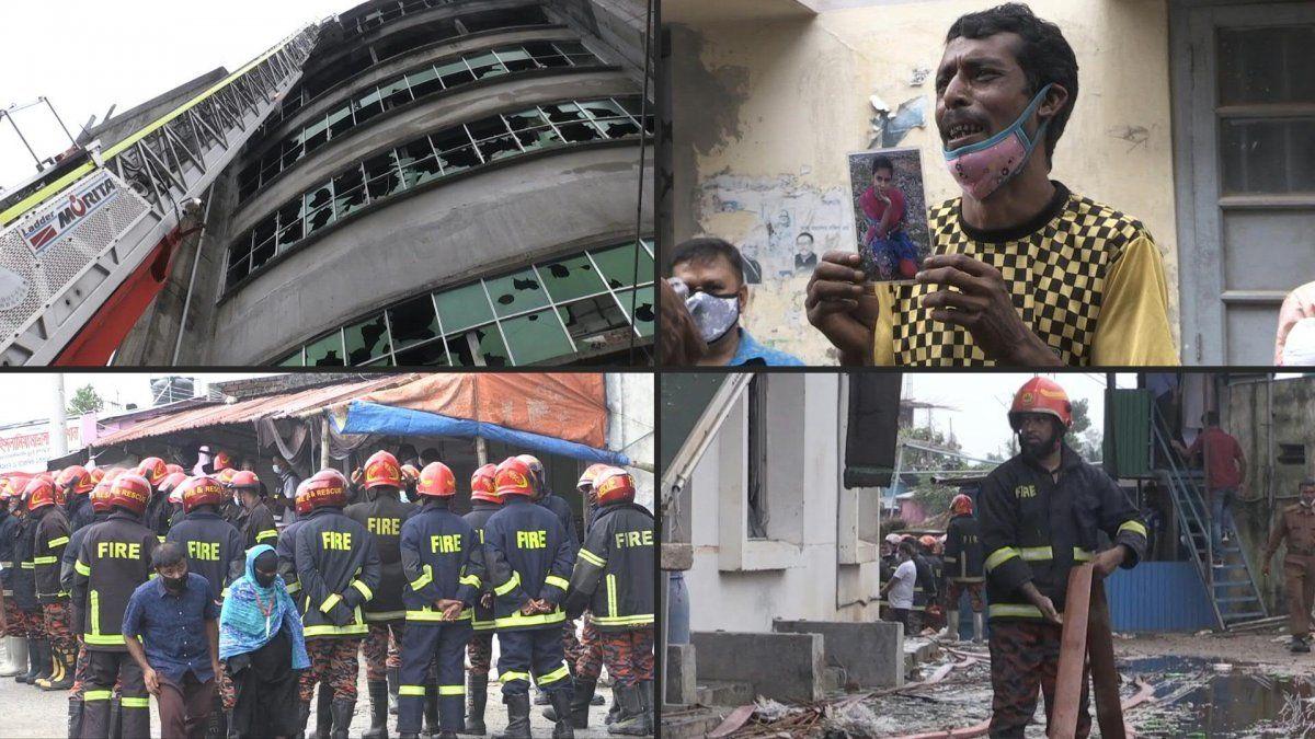 Dueño de fábrica incendiada en Bangladés donde murieron 52 personas fue detenido
